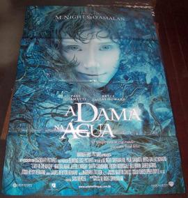 Cartaz/poster Cinema Filme A Dama Na Água - Modelo 1