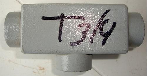 Caja Condulet Tipo T 3/4 PuLG