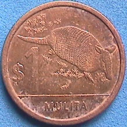 Spg Uruguay 1 Peso 2011.