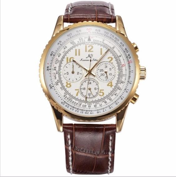 Relógio Masculino Importado Social Ks161
