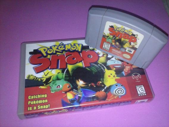 Jogo Pokemon Snap Raro Original Nintendo 64 N64