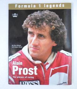 Livro Alain Prost The Science Of Racing - Formula 1 Legends