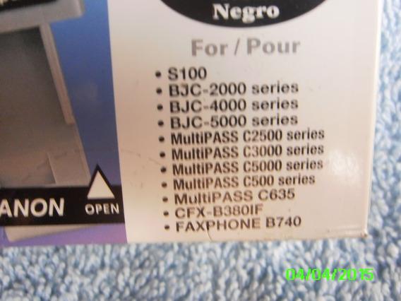Cartucho Canon Bci 21 Negro Original Iva-fact-tiendafisica