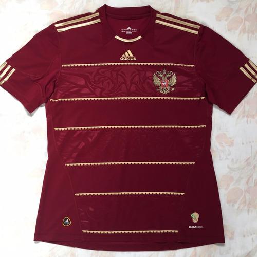 P46910 Camisa adidas Rússia Home 2010 G Fn1608