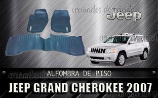 Alfombra De Piso Jeep Grand Cherokee 2008 Color Gris