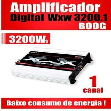 Modulo Boog 3200 1canal 2 Ohms