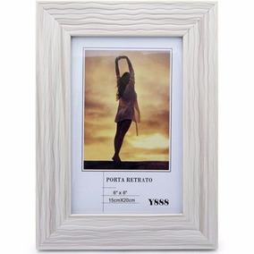 Porta Retrato Retro Style Vintage Marfim 15 X 20 Cm