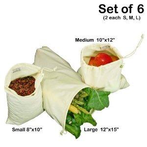 Algodón Muselina Simple Ecología Productos Orgánicos Bolsa -
