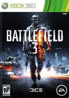 Battlefield 3 Xbox 360 ... Original Nuevo Sellado