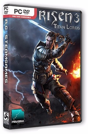 Risen 3 Titan Lords - Enhanced Edition - Pc Dvd - Frete 8 R$
