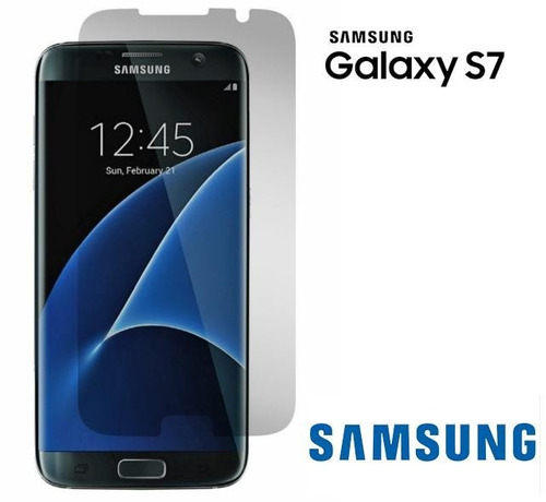 Protector De Pantalla Transparente Samsung S7 / S7 Edge