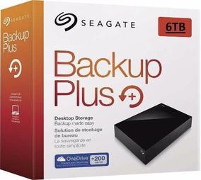 Hd Externo Seagate Backup Plus 6 Tb Usb 6000mb 6tb