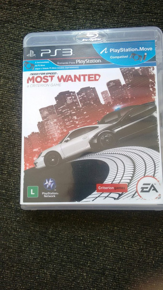 Need For Speed Most Wanted Ps3 Original Usado