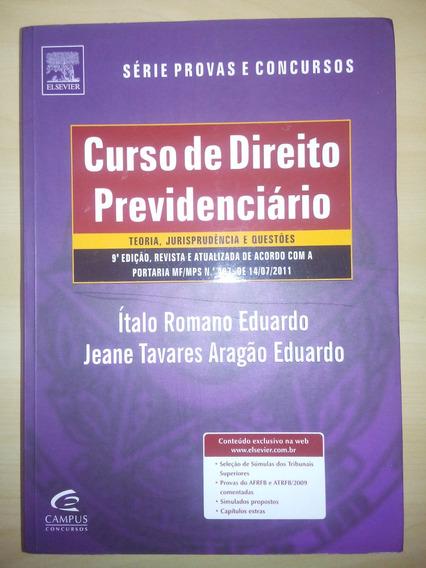 Curso De Direito Previdenciario - Ítalo Romano - Elsevier