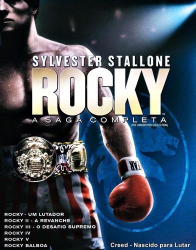 Colecao Rocky Balboa 7 Filmes Dublado Via Download Mercado Livre