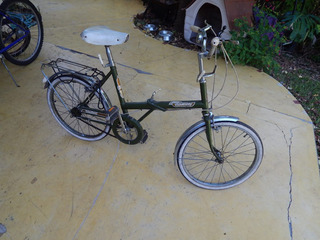 Bicicleta Raleigh Plegable Sturmey Acher Brook Icono Del 70
