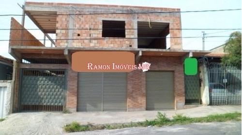 Bairro Parauna  V. Nova   Casa + 2 Lojas + Aptº Em Bhte/mg