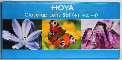 Kit Hoya De Lentes Close-up Para Macro Fotografia 72mm