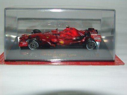 Miniatura Ferrari F2008 Felipe Massa Escala 1:43 Ixo