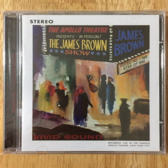 Cd James Brown Live At The Apollo (1962) - Expanded Edition