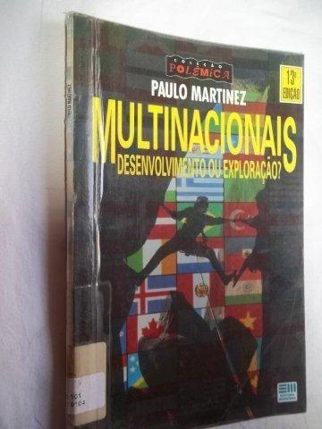 * Livro - Paulo Martinez - Multinacionais - Infanto Juvenil