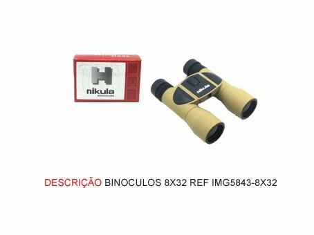 Binóculos Compacto Nikula 8x32 Alcance De Até 1km