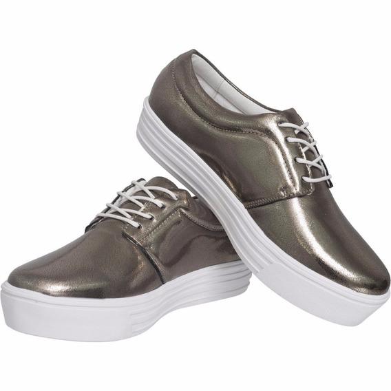 Tênis Flatform Sapatenis Sapato Feminino Lançamento Verão