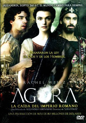 Dvd Agora ( Agora ) 2009 - Alejandro Amenabar / Rachel Weisz