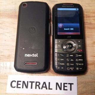 Nextel Motorola I418, Câmera, Fm, Mp3 E Bluetooth