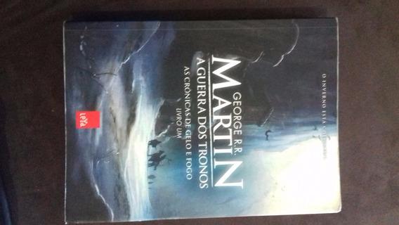 Livro A Guerra Dos Tronos - As Crônicas De Gelo E Fogo