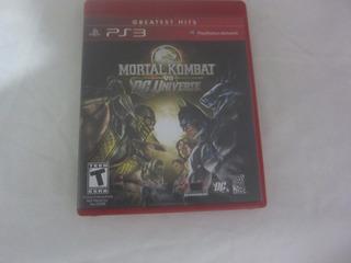 Mortal Kombat Vs Dc Universe Videojuego Ps3 Seminuevo