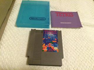 Tetris Com Manual (nintendo Nes, 1989)