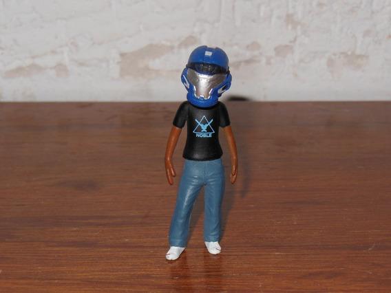 Halo Figura Avatar Con Casco