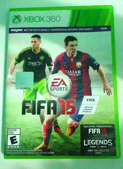 Fifa 15 Xbox 360 Midia Fisica Portugues Original