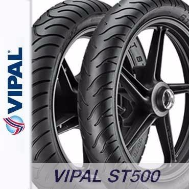 Par Pneu 100/80-17 + 130/70-17 Fazer250/twister St500 Vipal
