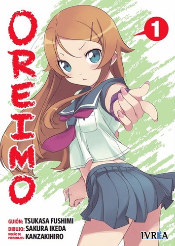 Manga Oreimo Tomo 01 - Ivrea