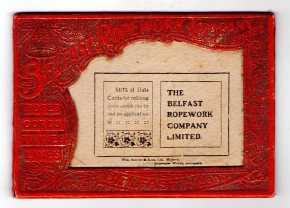 Porta Retrato Para Tarjetas Postales 1909 Publicidad