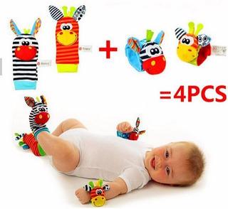Sonajeros Para Manos Y Pies Para Estimular Bebes $6.500