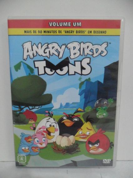 Dvd - Desenho - Angry Birds - Toons - Volume 1 (animação)