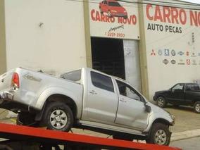Peças Toyota Hilux Srv 3.0 2007 Peças Motor Lataria Sucata