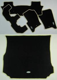 Tapete Carpete Luxo Discovery 3 + Porta Malas - 7 Lugares