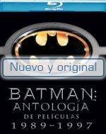 Bluray - Paq. Batman: Antologia 1989-1997