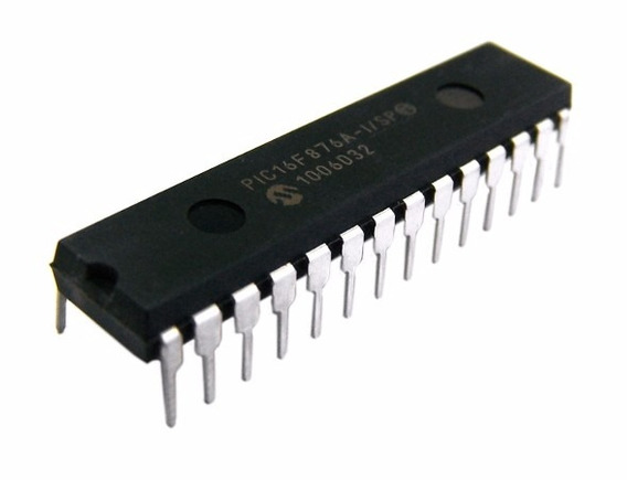 Lote 05 Peças Pic16f876a-i/sp 28spdip Microchip