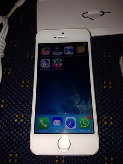 iPhone 5s 16gb Dourado Com Nota!
