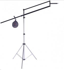 Grua Profissional Alt.2,70m P/ Iluminação Ou Dslr Filmadora