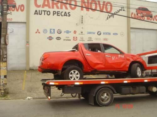 Sucata Mitsubishi L200 Triton 3.2 Hpe Peças Motor Cambio