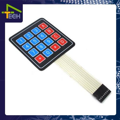 Kit 2 Teclado Matricial 16 Membrana Arduino