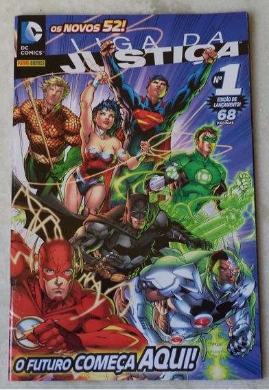 Liga Da Justiça Nº 1 Novos 52 *