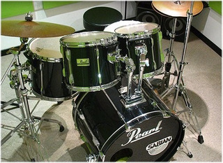 Pearl Pro Export 1992 Con Issc Fusion C/fierros