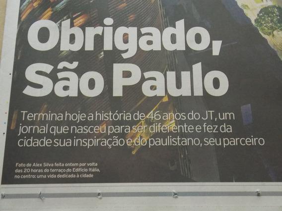 Jornal Da Tarde -jt Última Edição - 31 Outubro 2012 - Novo